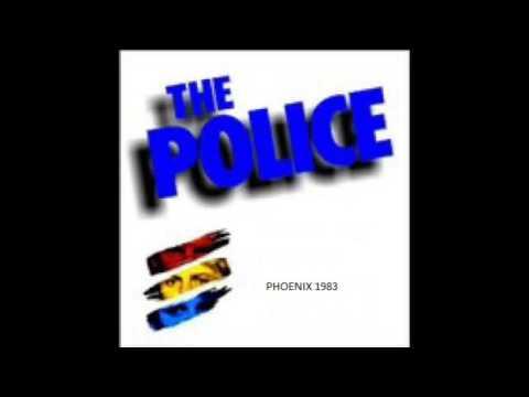 "THE POLICE - Phoenix, AZ 08-09-1983 "" Phoenix Municipal Stadium"" USA (FULL AUDIO SHOW)"