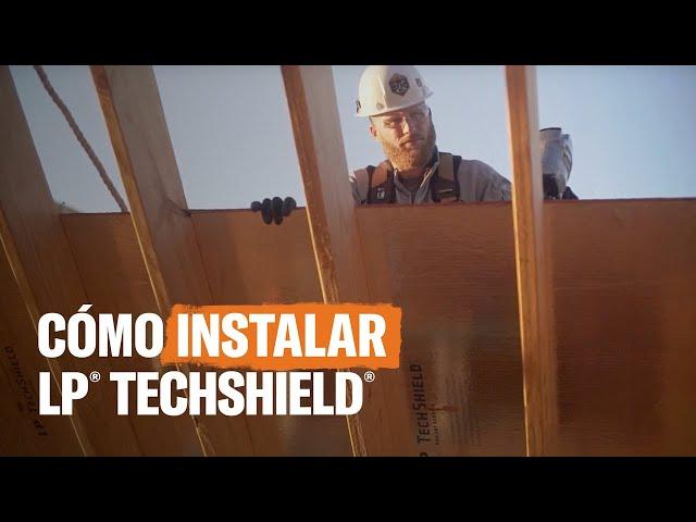 Proceso de instalación de la barrera radiante LP® TechShield®