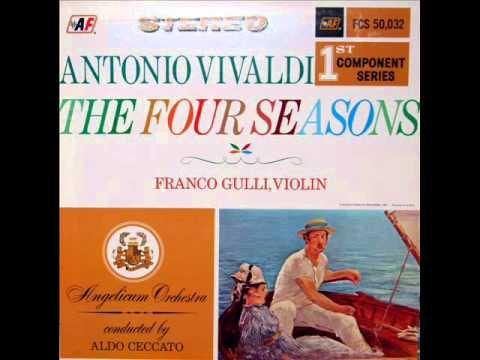 Vivaldi /Franco Gulli, 1959: The Four Seasons - Spring, Concerto In E major For Violin And Strings