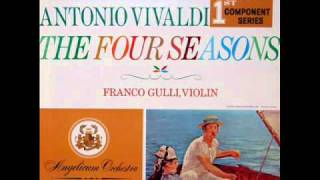 Vivaldi /Franco Gulli, 1959: The Four Seasons - Spring, Concerto In E major For Violin And Strings