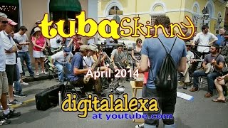 "April 2014 Tuba Skinny ""Instrumental Medley - 9 songs"" - MORE at DIGITALALEXA channel"