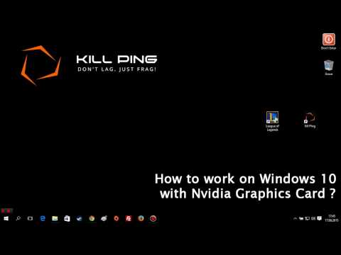 how to find the graphics card on windows 10