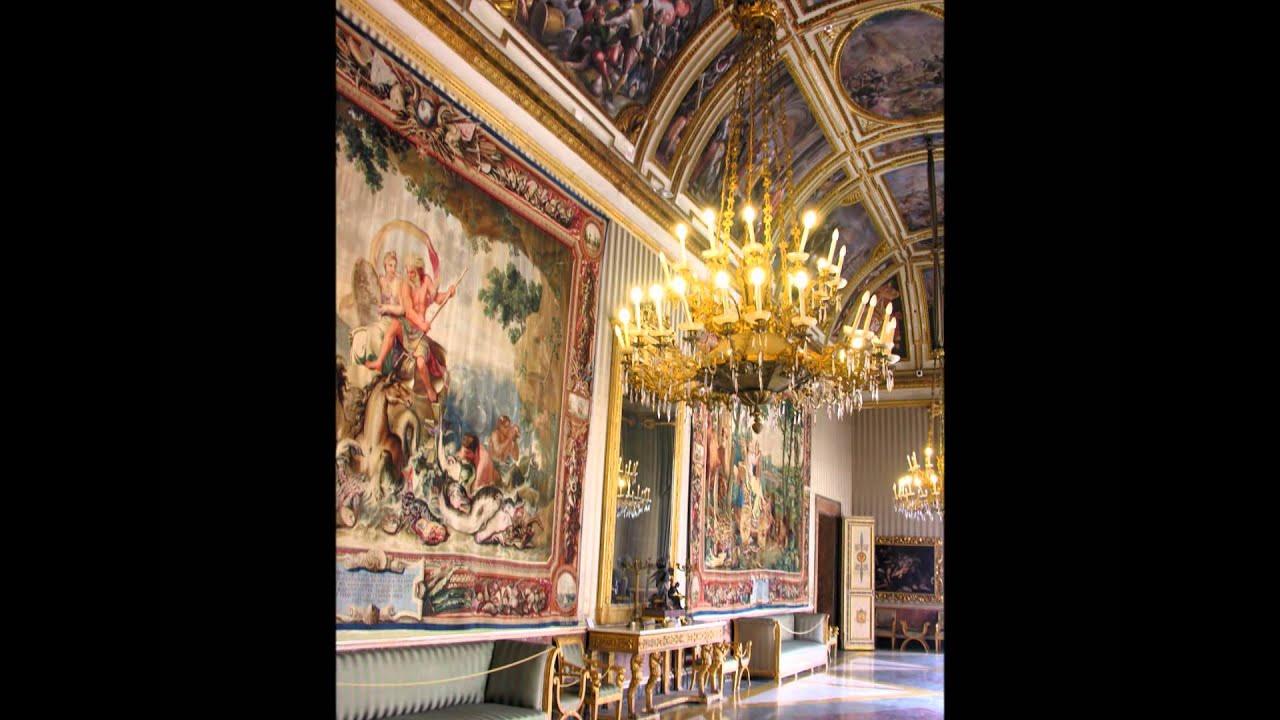 Palazzo reale napoli youtube for Arredatore d interni napoli