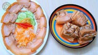 Cách làm Thịt Heo Ngâm Nước Mắm Chua Ngọt Cực Ngon Ăn Tết