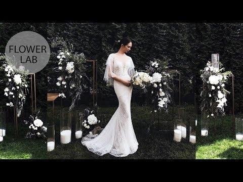 Photozone for wedding ceremony | How to Decorate a Wedding Photozone | DIY Wedding Ideas