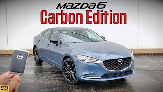 Meet the NEW 2021 Mazda 6 Turbo Carbon Edition! This new trim level packs a TON of style, luxury, and performance all into one awesome package for ...