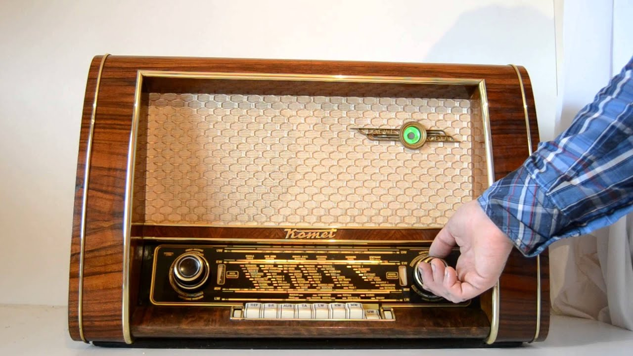 Loewe komet 55 youtube - Fotos radios antiguas ...