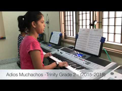 Trinity Grade 2 Keyboard-Adios Muchachos - (2015-2018)