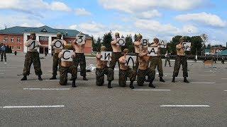 Витебские десантники устроили показательные выступления в день ВДВ