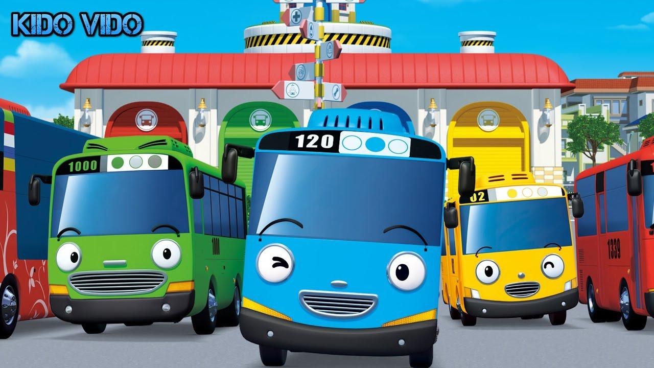 Игра Тайо Маленький автобус. Синий автобус Тайо едет на ...