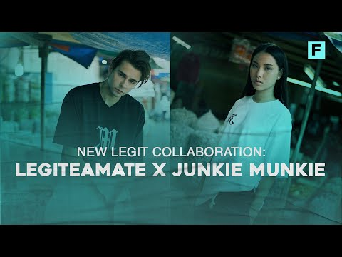 New Legit Collaboration: Legiteamate x Junkie Munkie