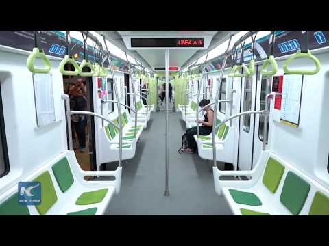 Chinese train technology brings safety to Buenos Aires