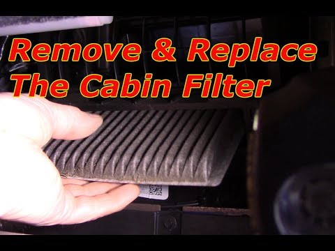 How To Replace The Cabin Filter 2007 2017 Ford Edge