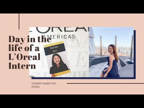 Day in the Life of a L'Oreal Marketing Intern