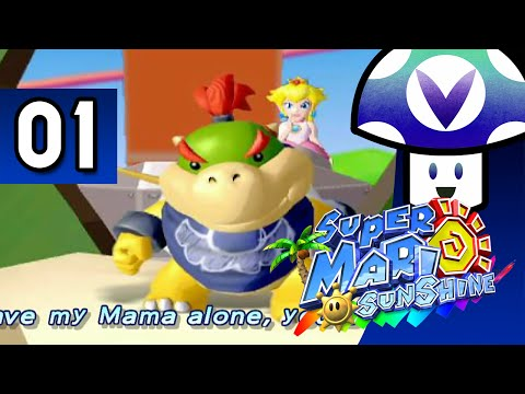 [Vinesauce] Vinny - Super Mario Sunshine (part 1) + Art!