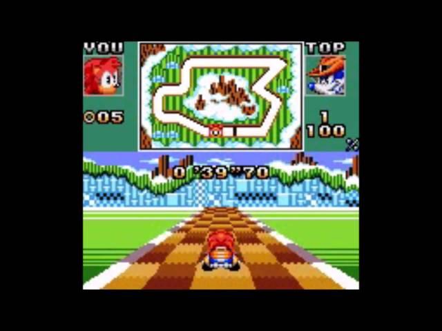 Sonic Drift 2 (Game Gear) - Longplay