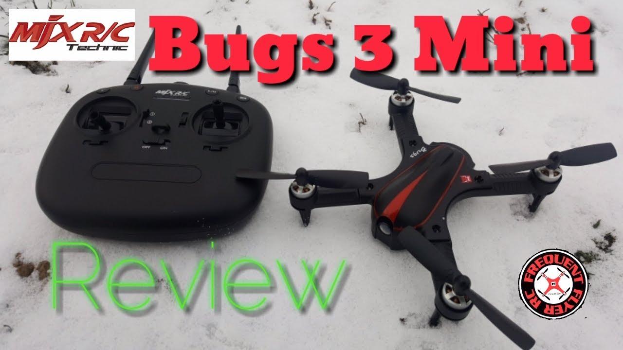mjx bugs 3 mini  MJX Bugs 3 Mini Review & Flight Demo - YouTube