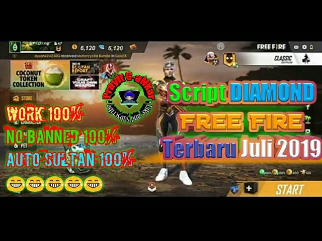 Download Script Diamond Free Fire Terbaru 2019 No Root No Password Bang Pray