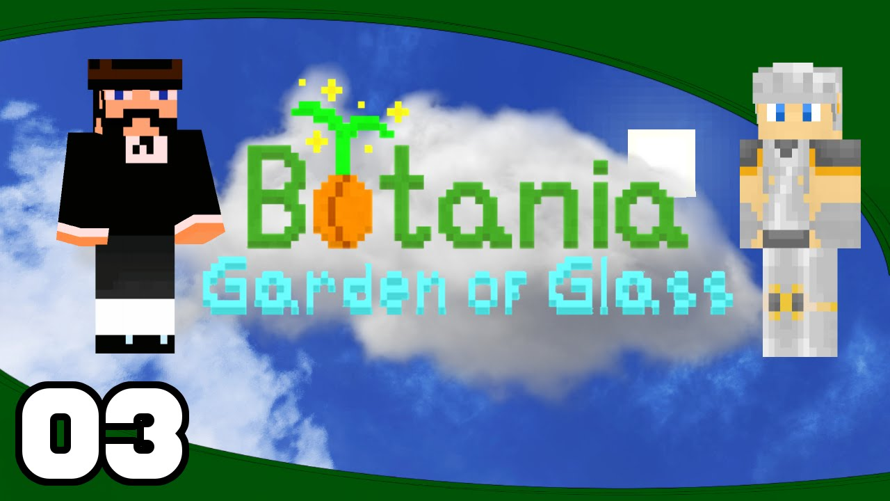 Botania Garden Of Glass   Ep. 3: Mystical Flowers | Minecraft Modded  Skyblock Letu0027s Play
