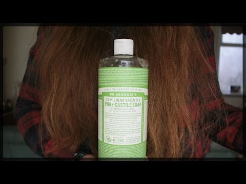 No Shampoo - Using Dr Bronners Instead