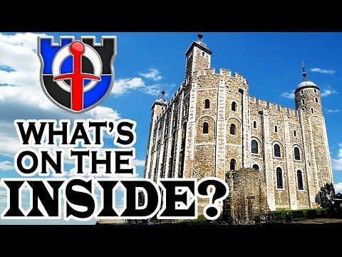 What rooms are inside REAL medieval castles?