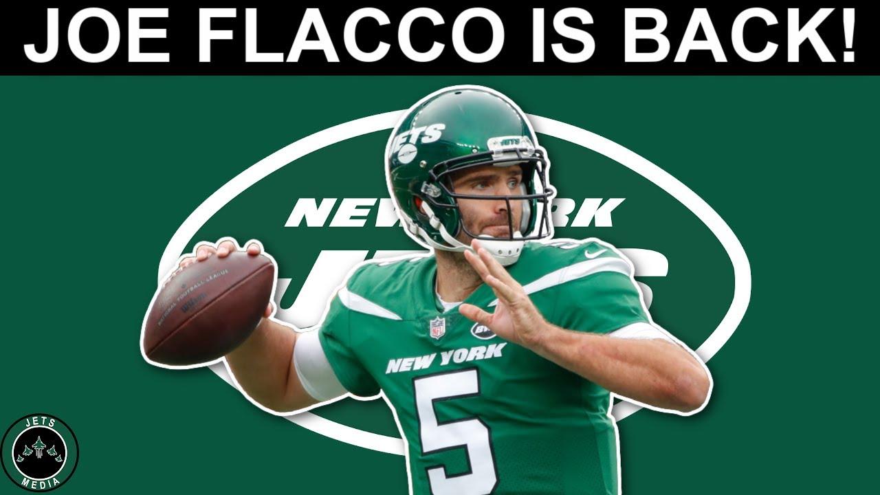 New York Jets bring back veteran QB Joe Flacco in trade with ...