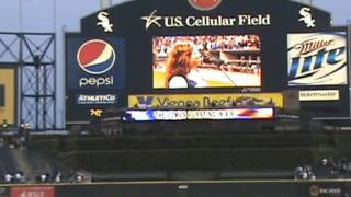 Katie Quick Rocks the National Anthem at US Cellular Field 9.13.11