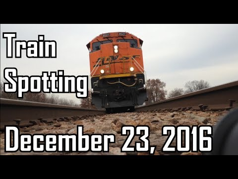 Railfanning: Norfolk Southern + Union Pacific December 23rd 2016