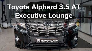 The New Toyota Alphard 3.5 АТ Executive Lounge 2015 black/black от Mayorcars / SHOWROOM