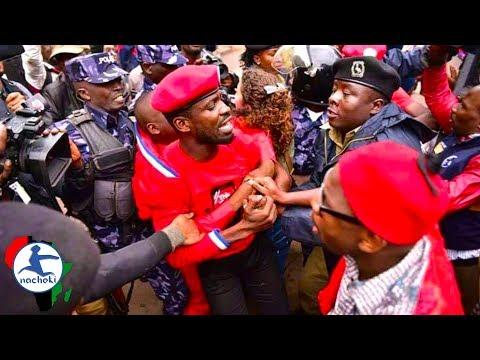 BREAKING: Ugandan Politician and activist Bobi Wine Arrested Again