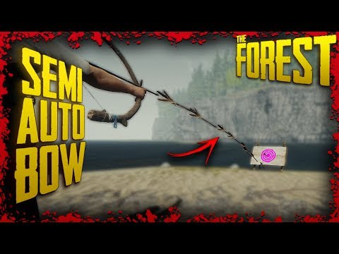 How to make a 'Machine Gun Bow' using Mods | The Forest Modded Tutorial