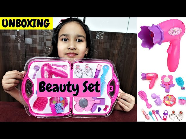 Webby Beauty Set for Girls, Pink / UNBOXING / #LearnWithPari #Aadyansh
