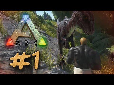 TGC   ARK Survival Evolved#1 :: ผจญภัยโลกไดโนเสาร์ !!