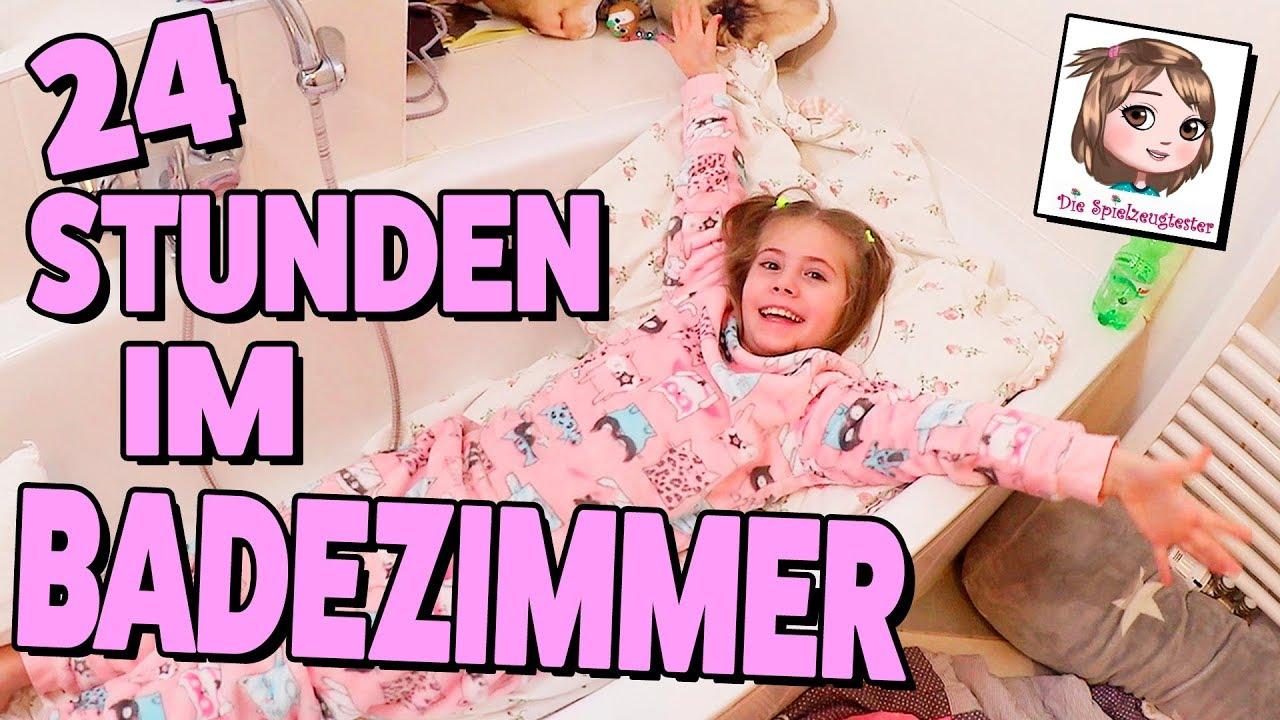 Download 24 STUNDEN im BADEZIMMER EINGESPERRT 🛀 Challenge im Bad mit Bibi & Tina ✨ HEX HEX