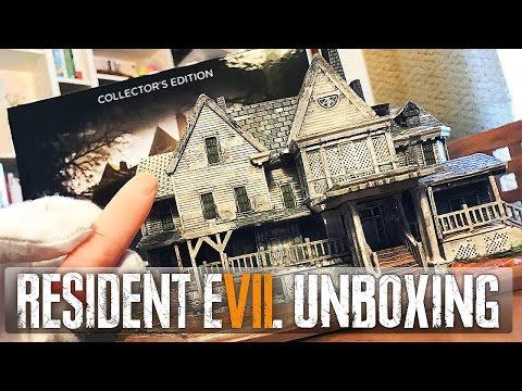 RESIDENT EVIL 7 : notre UNBOXING de l'édition collector !