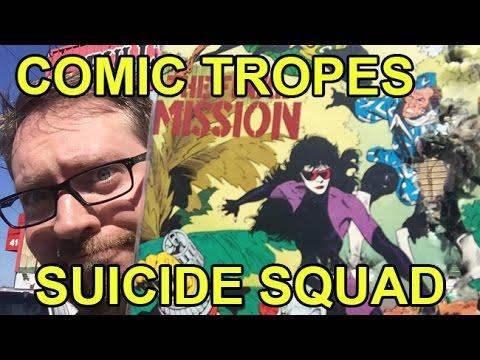 Suicide Squad: An Underrated 80s Comic - Comic Tropes (Episode 10)