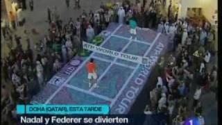 Rafa Nadal vs. Roger Federer, tenis sobre una alfombra mágica