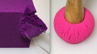 Video Very Satisfying Video Compilation 76 Kinetic Sand Cutting ASMR download MP3, 3GP, MP4, WEBM, AVI, FLV Agustus 2018