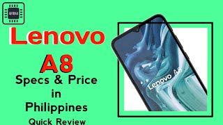 Lenovo A8 - Review Specs and Price in Philippines || TEDTECH REVIEWS