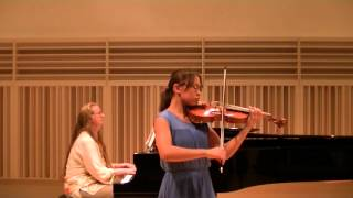Concerto No. 3 in C Minor, F. Seitz (viola)