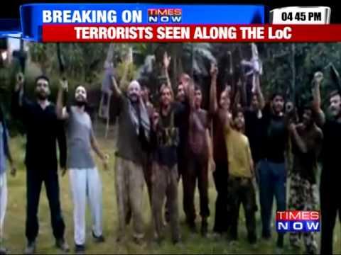 Terrorists Caught On Cam In Pakistan Occupied Kashmir
