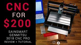 CNC router for $200 - Sainsmart Genmitsu 3018 Pro review and tutorial