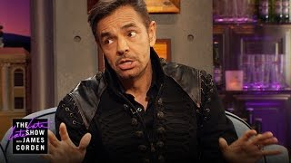 Eugenio Derbez Helped Build His Walk of Fame Star