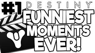 Funniest Destiny Moments Compilation Part 1 (Vanilla Destiny - The Taken King)