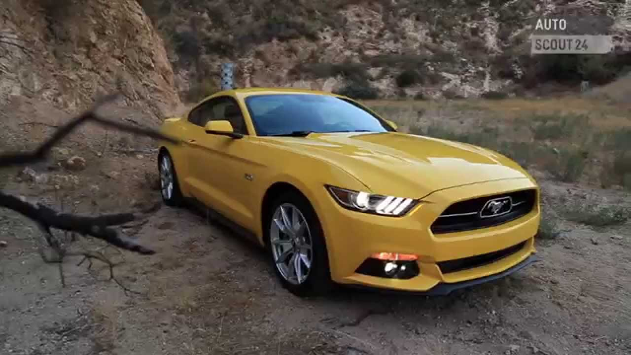 ford mustang 2015 autoscout24 youtube. Black Bedroom Furniture Sets. Home Design Ideas