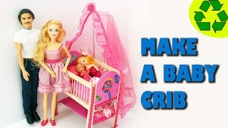 How To Make A Doll Crib - Crafts For Dolls
