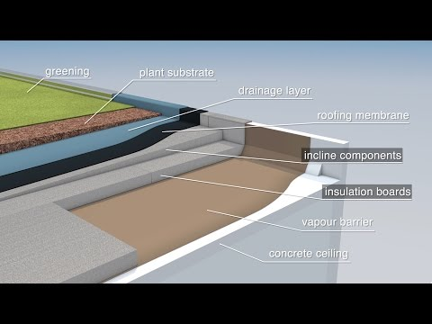 How does efficient flat roof insulation work? Concepts from a construction site with Neopor