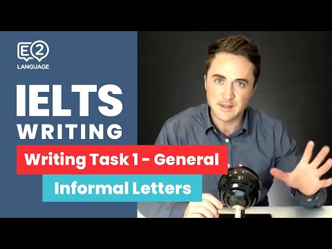 IELTS General Writing Task 1: Informal Letters | 6 STEP METHOD with Jay!