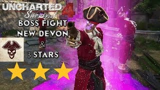 Uncharted 4 Survival: Boss Fight Stage 10 New Devon 3 Stars (Crushing)