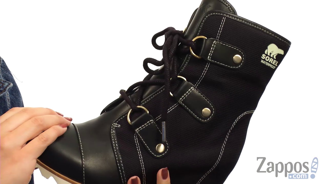 39c63af19aa4 SOREL Joan of Arctic Wedge Mid x Celebration SKU  8918245 - YouTube